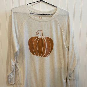 Pumpkin tunic style shirt.